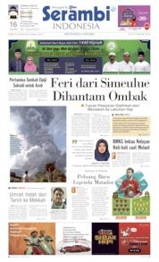 Cover Serambi Indonesia 10 Juni 2019