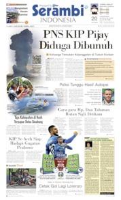 Cover Serambi Indonesia 11 Juni 2019