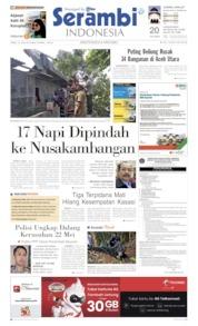 Cover Serambi Indonesia 12 Juni 2019