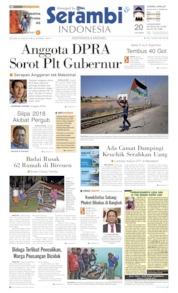 Serambi Indonesia Cover 25 June 2019