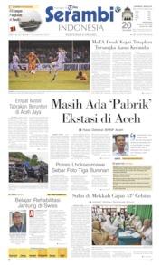 Cover Serambi Indonesia 20 Juli 2019