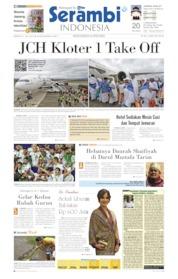 Cover Serambi Indonesia 21 Juli 2019