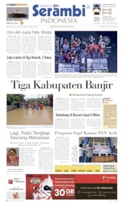 Serambi Indonesia Cover 22 July 2019