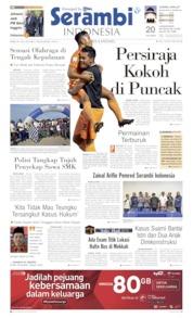Cover Serambi Indonesia 24 Juli 2019