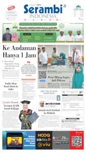 Serambi Indonesia Cover 14 August 2019