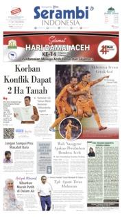 Serambi Indonesia Cover 15 August 2019