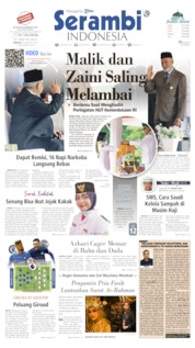 Serambi Indonesia Cover 18 August 2019