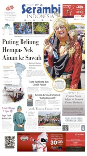 Serambi Indonesia Cover 19 August 2019