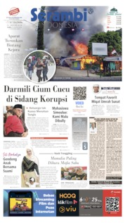 Serambi Indonesia Cover 22 August 2019