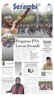 Cover Serambi Indonesia 23 Agustus 2019