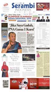 Cover Serambi Indonesia 26 Agustus 2019