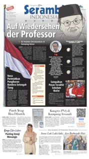 Serambi Indonesia Cover 12 September 2019