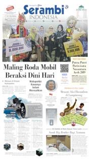 Serambi Indonesia Cover 13 September 2019