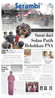 Serambi Indonesia Cover 14 September 2019