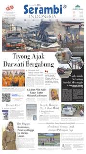 Serambi Indonesia Cover 15 September 2019