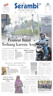 Serambi Indonesia Cover 19 September 2019