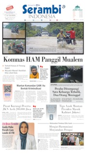 Cover Serambi Indonesia 09 Oktober 2019