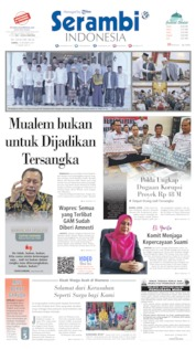 Cover Serambi Indonesia 10 Oktober 2019