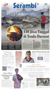 Cover Serambi Indonesia 13 Oktober 2019