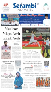 Serambi Indonesia Cover 16 October 2019