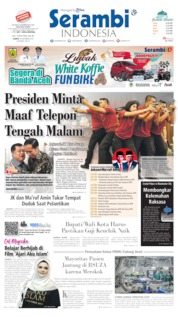 Cover Serambi Indonesia 19 Oktober 2019