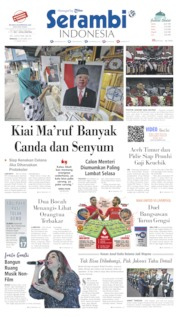 Serambi Indonesia Cover 20 October 2019