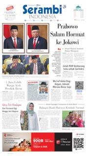 Serambi Indonesia Cover 21 October 2019