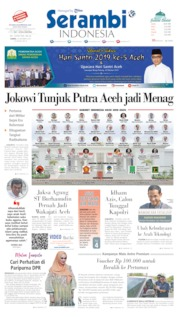 Serambi Indonesia Cover 24 October 2019