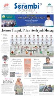 Cover Serambi Indonesia 24 Oktober 2019