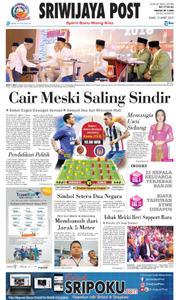 Cover Sriwijaya Post 15 Maret 2018