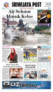 Cover Sriwijaya Post 16 Maret 2018