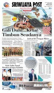 Cover Sriwijaya Post 19 Maret 2018