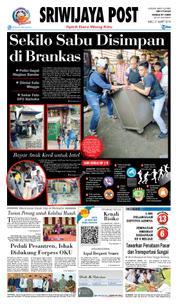 Cover Sriwijaya Post 21 Maret 2018