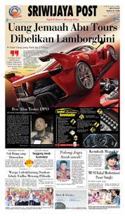 Cover Sriwijaya Post 22 Maret 2018