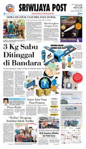 Cover Sriwijaya Post 23 Maret 2018