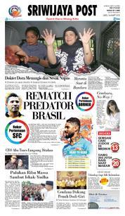 Cover Sriwijaya Post 24 Maret 2018