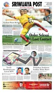 Cover Sriwijaya Post 18 Februari 2018
