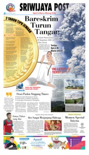 Cover Sriwijaya Post 20 Februari 2018