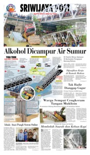 Cover Sriwijaya Post 18 April 2018