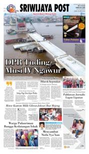 Cover Sriwijaya Post 20 April 2018
