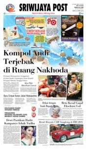 Cover Sriwijaya Post 23 April 2018