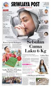 Cover Sriwijaya Post 25 April 2018