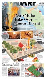 Cover Sriwijaya Post 26 April 2018
