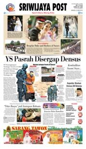 Cover Sriwijaya Post 20 Mei 2018
