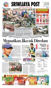 Cover Sriwijaya Post 21 Mei 2018