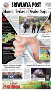 Cover Sriwijaya Post 23 Mei 2018