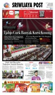 Cover Sriwijaya Post 24 Mei 2018