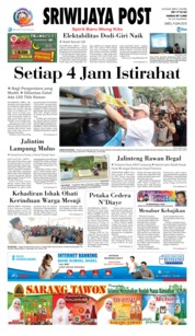 Cover Sriwijaya Post 09 Juni 2018