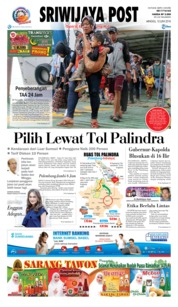 Cover Sriwijaya Post 10 Juni 2018