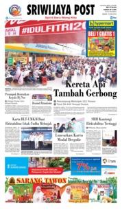 Cover Sriwijaya Post 12 Juni 2018